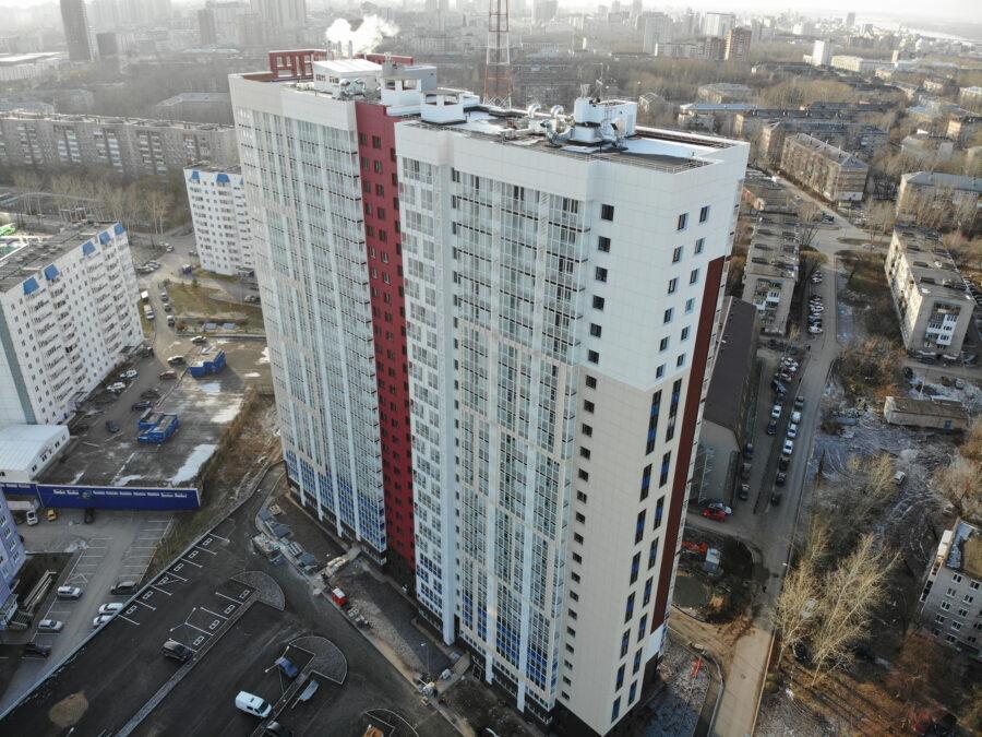 Многоквартирный жилой дом по ул. Тургенева, 33д в г. Перми