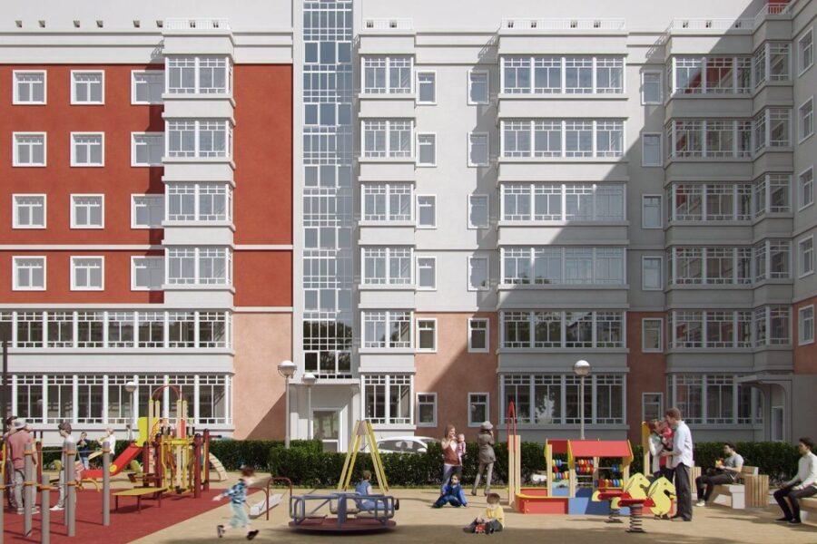 Реконструкция административного здания под многоквартирный жилой дом по ул. Циолковского, 19 в г. Перми