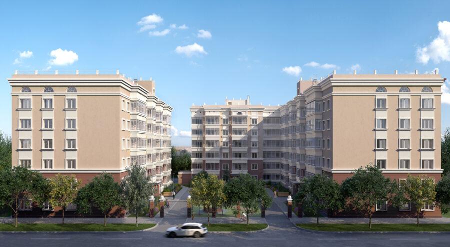 Многоквартирный жилой дом по ул. Лукоянова, 31 в г. Перми