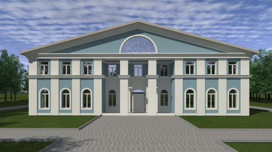 Дом культуры по адресу: Пермский край, г. Красновишерск, ул. Дзержинского, 9б