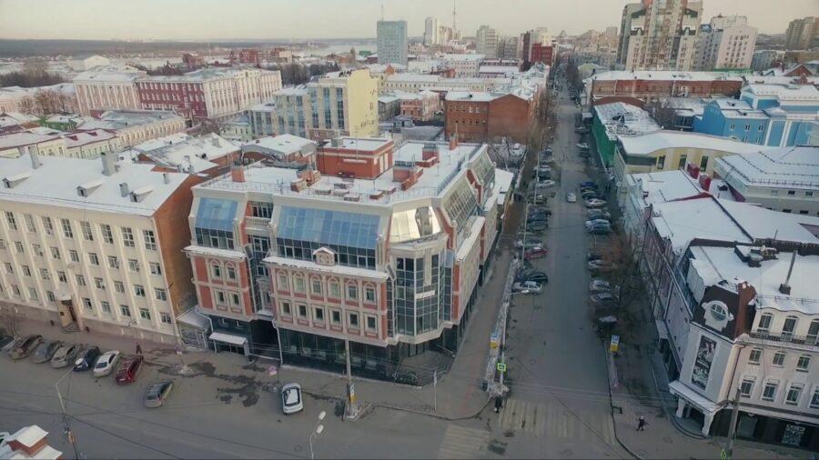 Общественно-жилой комплекс по улице Пермская 53 в г. Перми